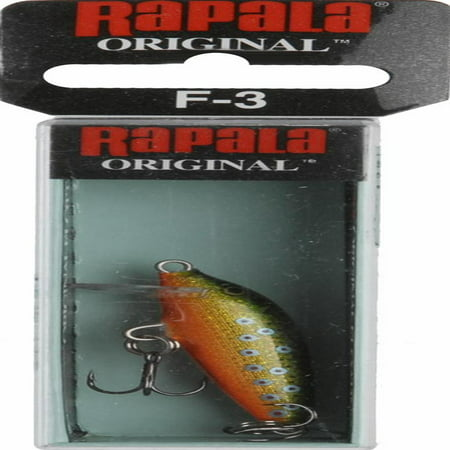 Rapala Floating 03 Brook Trout - F03BTR (Best Bait For Brook Trout)