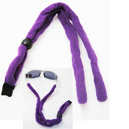 New Sunglass Neck Strap Eyeglass Cord Lanyard String Holder Sports Cycling Purpl ()