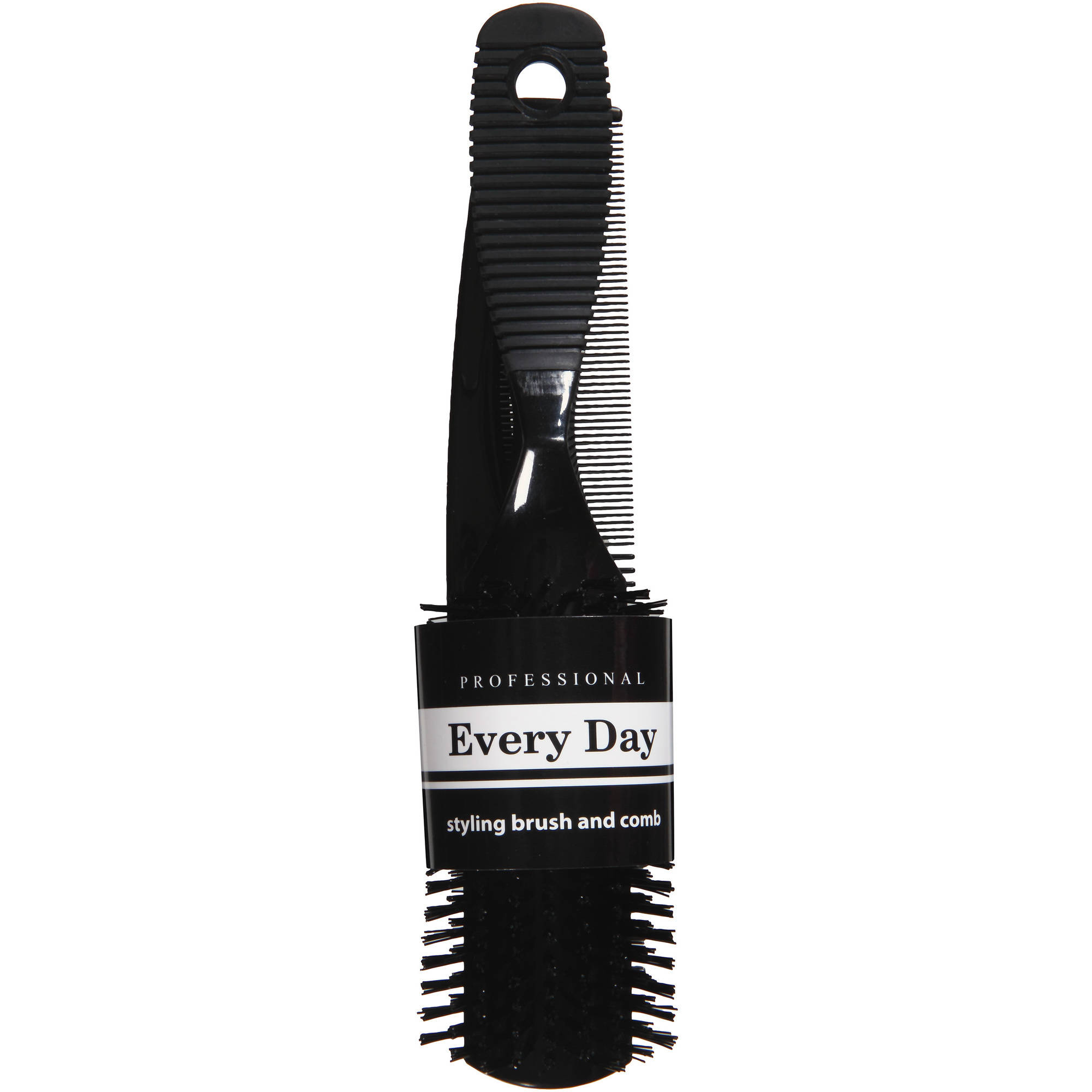 Professional Every Day Styling Brush and Comb, 9103, Black