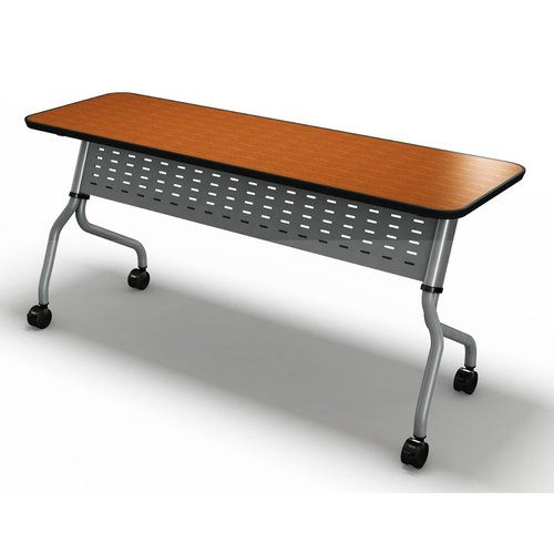 Mayline Group Sync Training Table with Modesty Panel