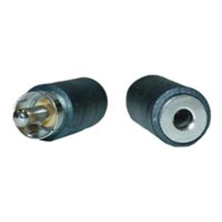 - 3.5mm Mono Female to RCA Male Adapter