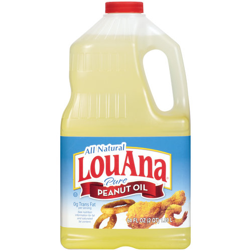 Lou Ana Pure Peanut Oil, 64 oz