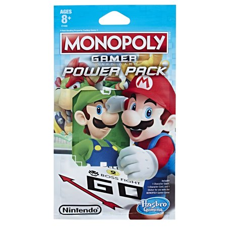 - Monopoly Gamer Figure Pack, 8 to Collect, Collect them All