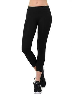 75359935c1 Product Image Women's Seamless Capri Length Nylon Athletic Leggings