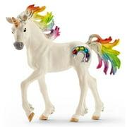 Schleich Bayala, Rainbow Unicorn Foal Toy Figurine