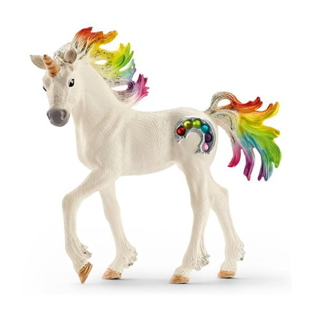 Schleich Bayala, Rainbow Unicorn Foal Toy - Great White Shark Toys