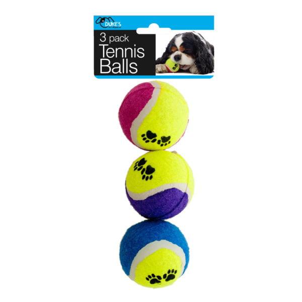 Bulk Buys Dog Tennis Balls Set, Case of 12