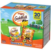 Merlot Cheddar - (2 Pack) Pepperidge Farm Goldfish Colors Cheddar and Flavor Blasted Xtra Cheddar Crackers, 18 oz. Variety Pack Box, 20-count 0.9 oz. Single-Serve Snack Packs