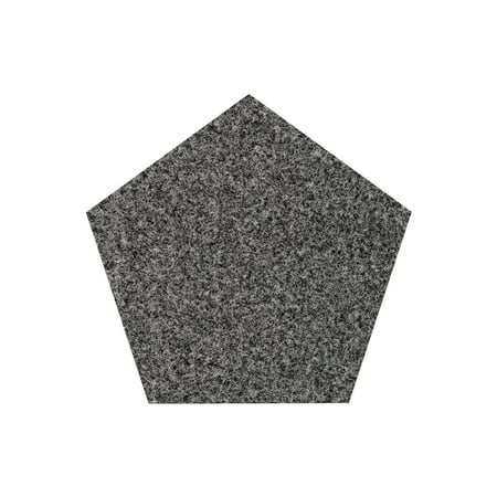 Galaxy Way Solid Color Area Rugs With Rubber Marine Backing For Patio Porch Deck Boat Bat Or Garage Premium Bound Polyester Edges Grey 6