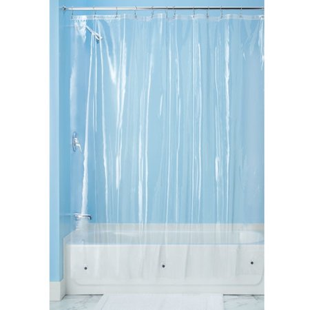 InterDesign Vinyl 4.8 Shower Curtain Liner - Walmart.com