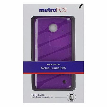 MetroPCS Flexible Gel Case for Nokia Lumia 635 - Purple ()