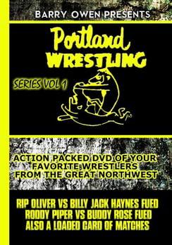 Barry Owen Presents Portland Wrestling Volume 1 (DVD) by Jadat Sports