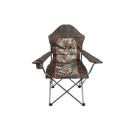 Realtree Edge Padded Outfitter Chair with Insulated Cup Holder, (Best Fox Outfitters Beach Chairs)