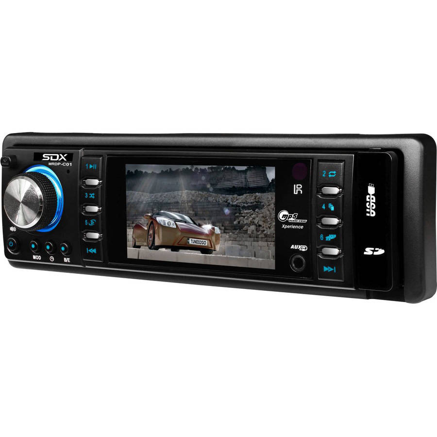 """SDX 3"""" TFT Mechless Multimedia Receiver and Digital Player"""