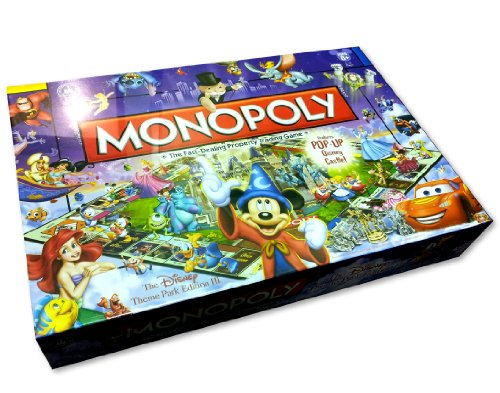 Disney Theme Park Edition III Monopoly Game by Disney Theme Park Merchandise