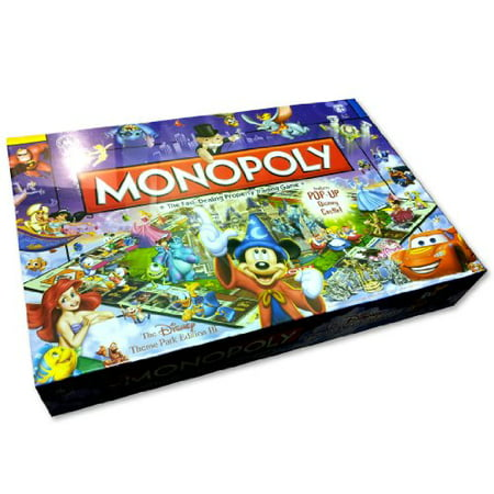 Disney Theme Park Edition III Monopoly Game - Beach Themed Games