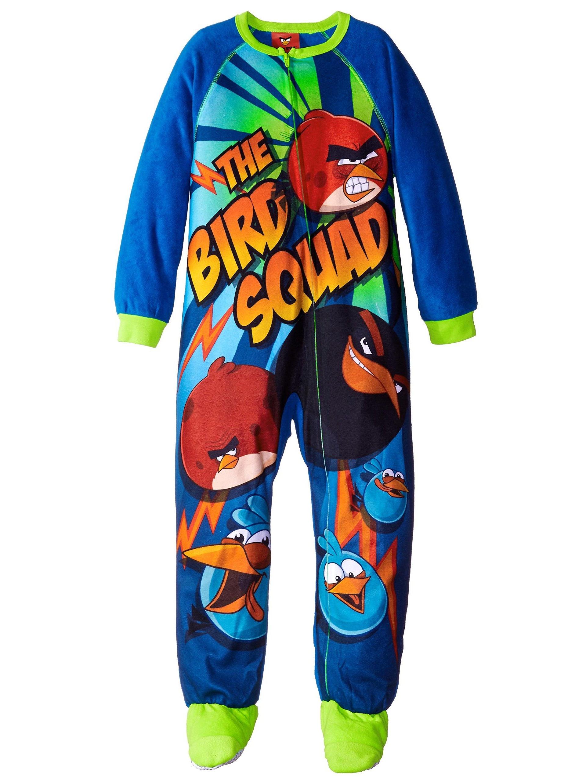 Komar Kids Big Boys' Angry Birds Micro Fleece Blanket Sleeper