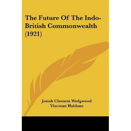 The Future of the Indo-British Commonwealth (1921) - image 1 of 1