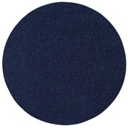 Bright House Solid Color Area Rugs Navy - 6' Round