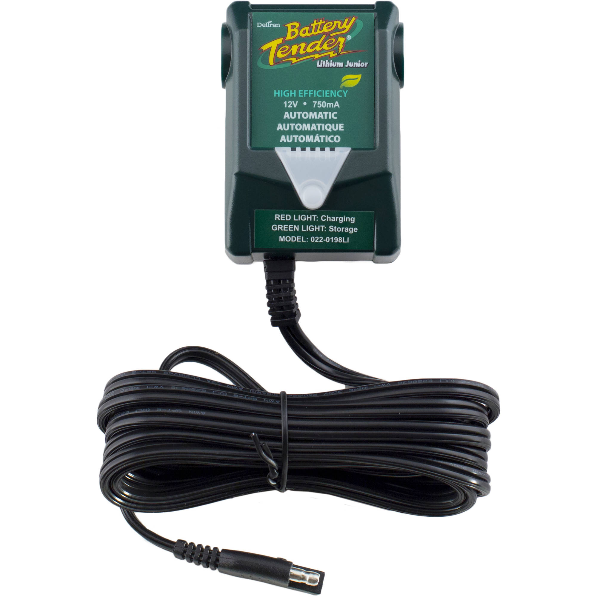 Battery Tender 12V 750Ma Junior High Efficiency Lithium Charger