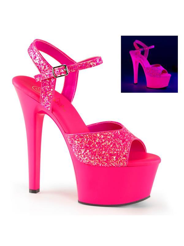 "ASP609G/NHPNK/M Pleaser Platforms Exotic Dancing 6"" - 6 1/2"" Heel Size: 7"
