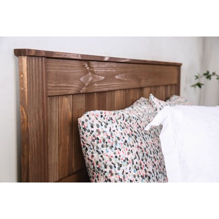 Furniture of America Allen Rustic Solid Pine Wood Full Headboard