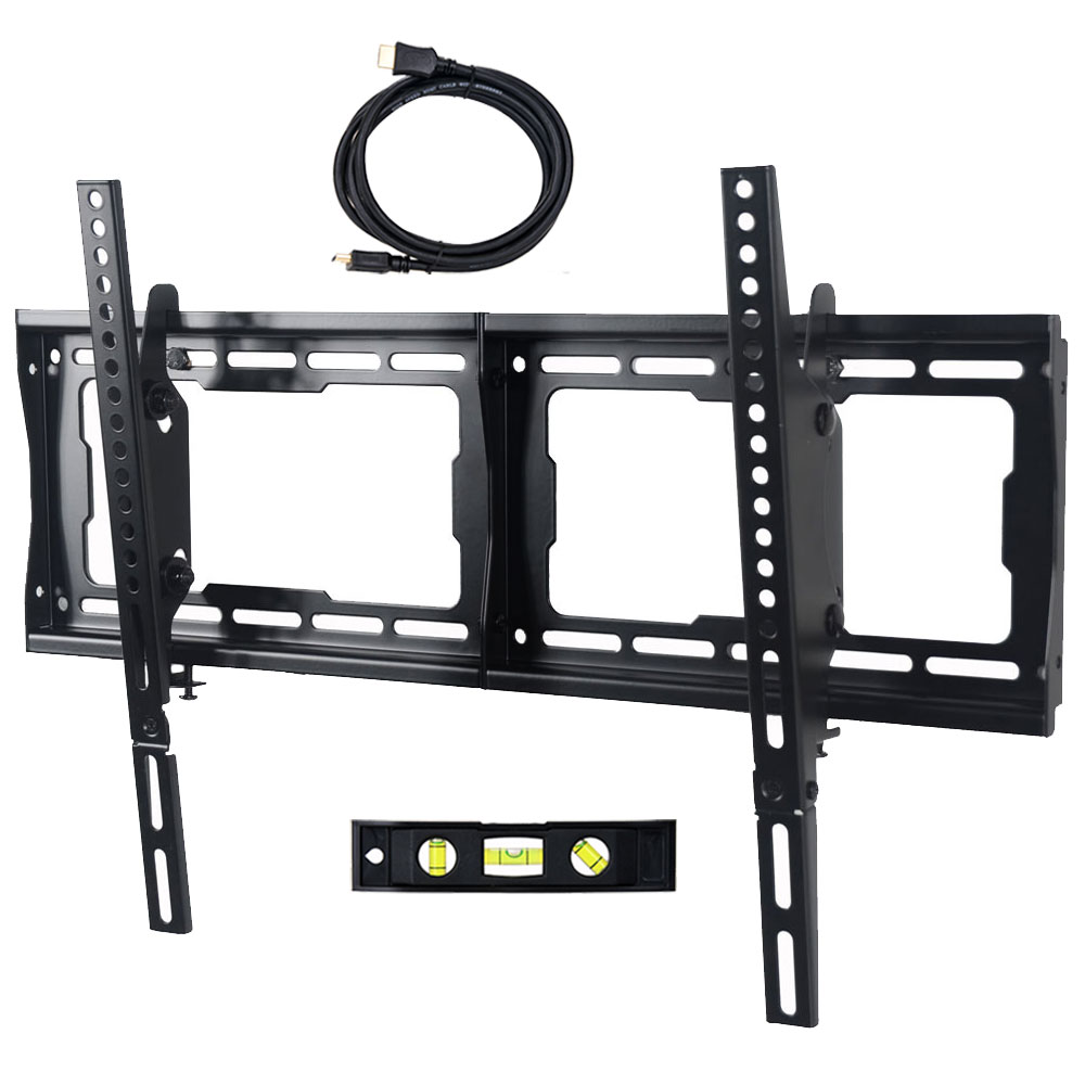 "VideoSecu Tilt TV Wall Mount for 26 32 40 42 46 47 48 50 55 60 65 70"" LCD LED Plasma Bracket Heavy Duty Flat Screen BBM"