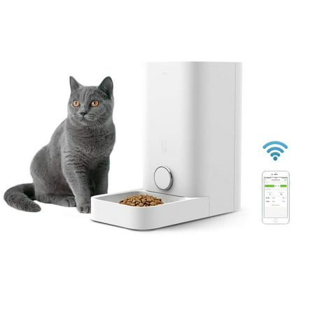 PETKIT Fresh Element Mini Smart Automatic Pet Feeder for Cats - Wi-Fi-Control,...