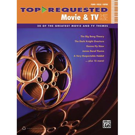 Top-Requested Movie & TV Sheet Music : 20 of the Greatest Movie and TV Themes (Piano/Vocal/Guitar) - Halloween Theme Sheet Music For Piano