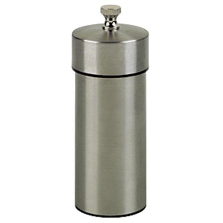 Chef Specialties 29921 5.5 Inch - 14cm FuturaBrushed Stainless Pepper Mill - image 1 of 1