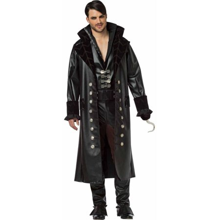 Hook Once Upon A Time Costume (Once Upon A Time Hook Men's Adult Halloween)