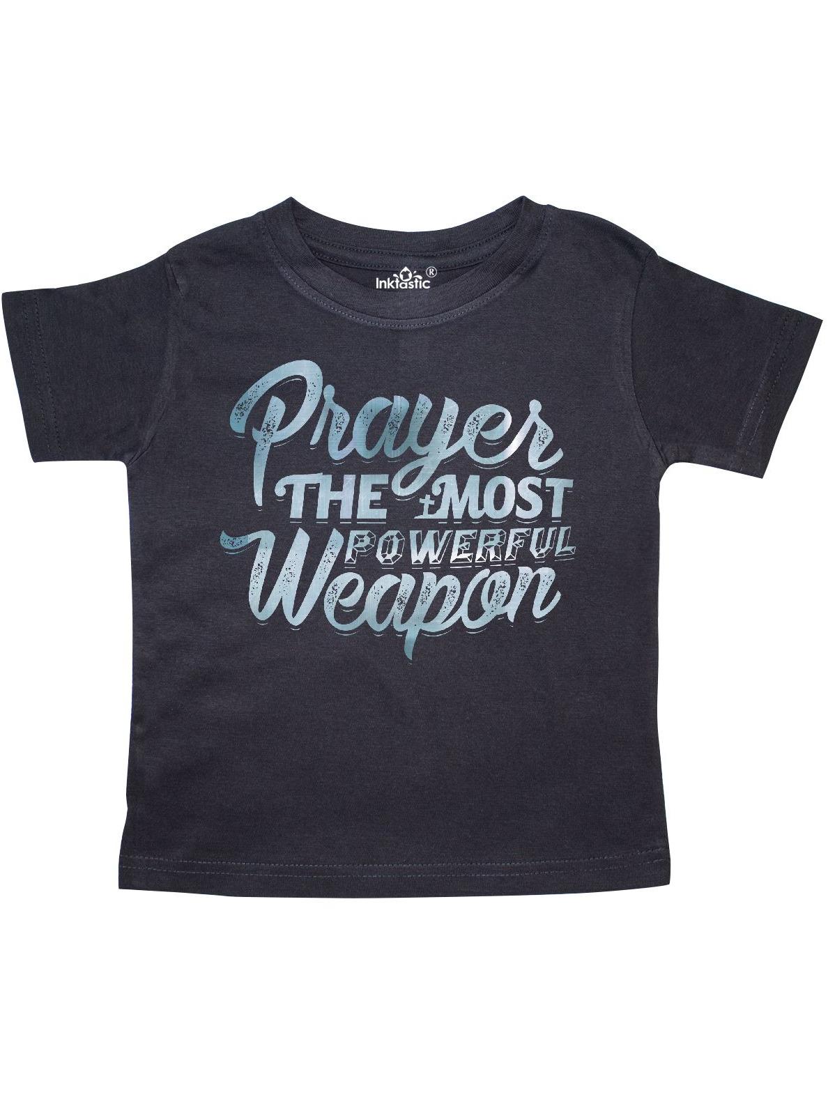 Prayer Power Silver Toddler T-Shirt