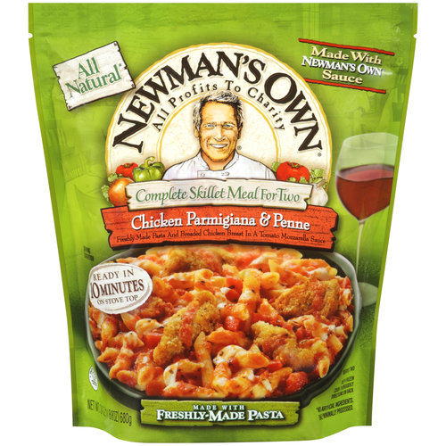 Newman's Own Complete Skillet Meal for Two Chicken Parmigiana & Penne, 24 oz