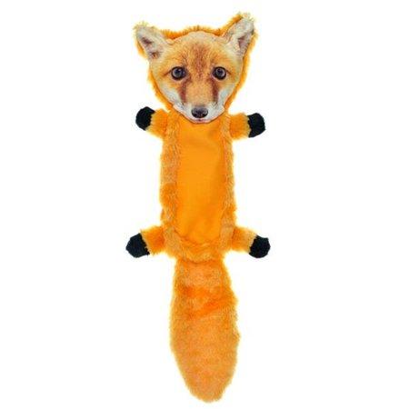 FurRealz ZD2110 15 18 in. Flattie Ballistic Belly Fox Dog Toy