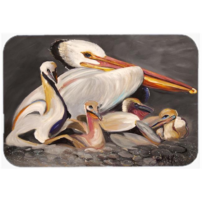 White Pelicans Mouse Pad, Hot Pad & Trivet