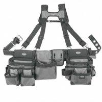 """Bucket Boss 55135 29 Pocket 52"""" Adjustable Gray Suspension Rig"""