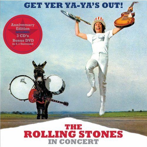 Get Yer Ya-Ya's Out! The Rolling Stones in Concert (3CD and 1 DVD) (Expanded Edition)