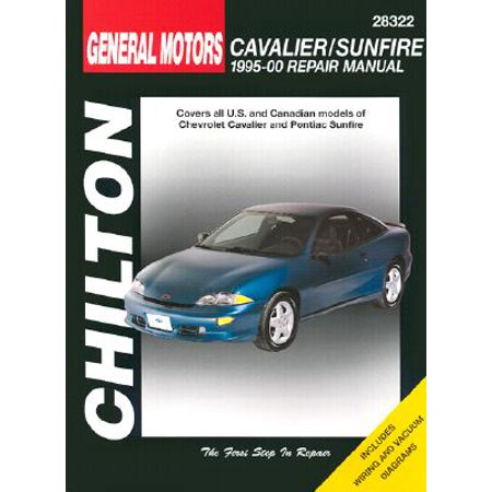 - GM Cavalier and Sunfire, 1995-00 1995-00 Repair Manual