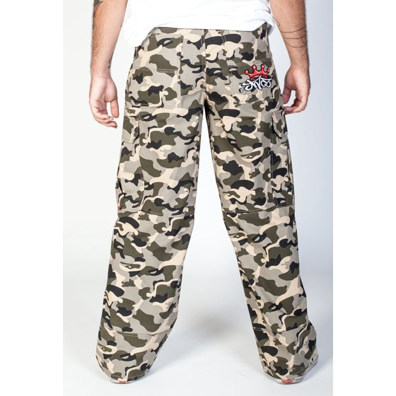 ba85cac179c52 JNCO-Jeans - JNCO Indicator Cargo Pants Camo- Leg Opening 22 ...