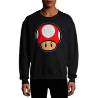 Deals on Nintendo Mario Kart Toad Power Up Mens Graphic Fleece Sweatshirt