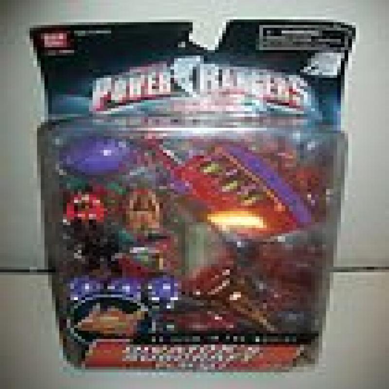 Power Rangers Turbo 1997 Divatox's Subcraft Playset MOSC MOC w  Divatox Maligore by
