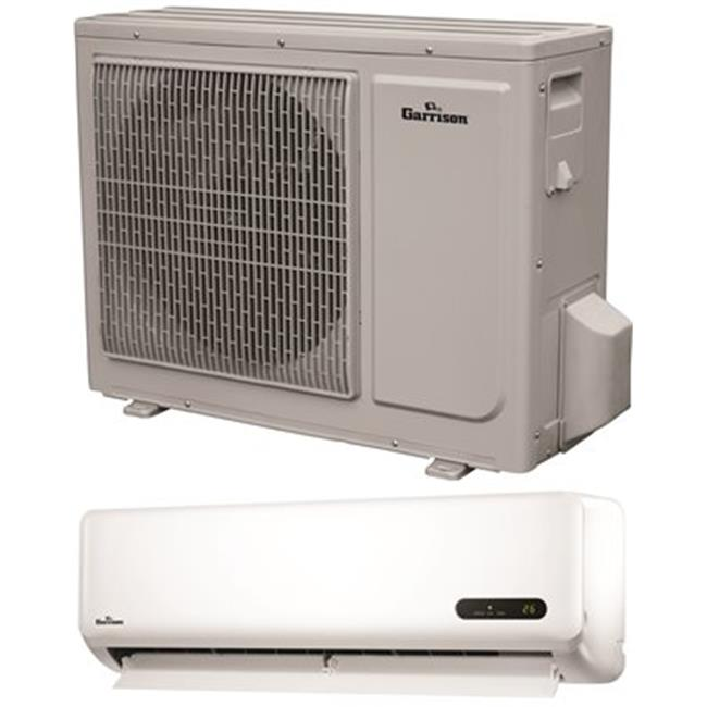 Garrison 2498563 18000 BTU Ductless Mini-Split Air Conditioner, Indoor Air Handler & Outdoor Condensing Unit