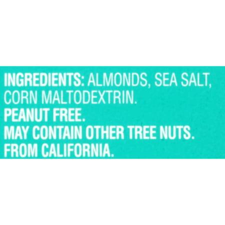 Blue Diamond Almonds, 100 Calorie Bags, Sea Salt, .6 oz