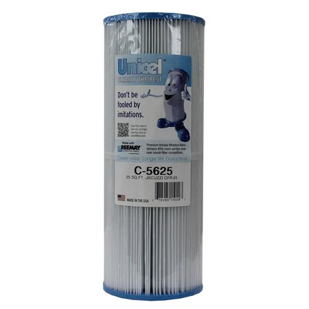 Unicel C-5625 Spa Replacement Cartridge Filter 25 Sq Ft Jacuzzi CFR-25 In-line