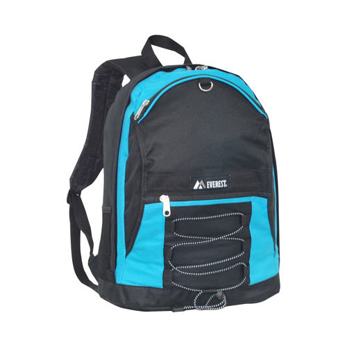 Everest Two Tone Backpack with Mesh Pockets
