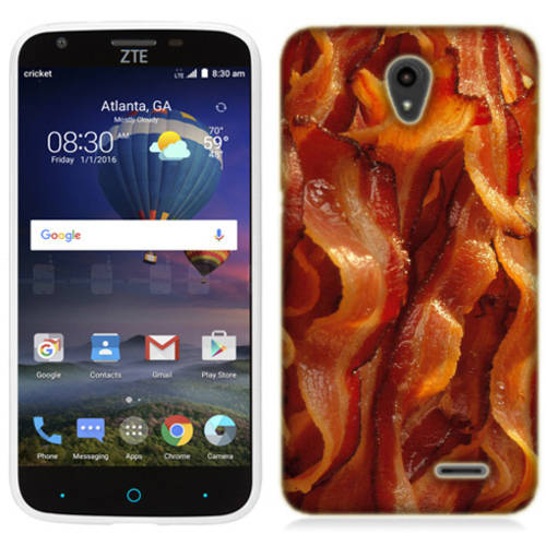 Mundaze Tasty Bacon Phone Case Cover for ZTE Obsidian