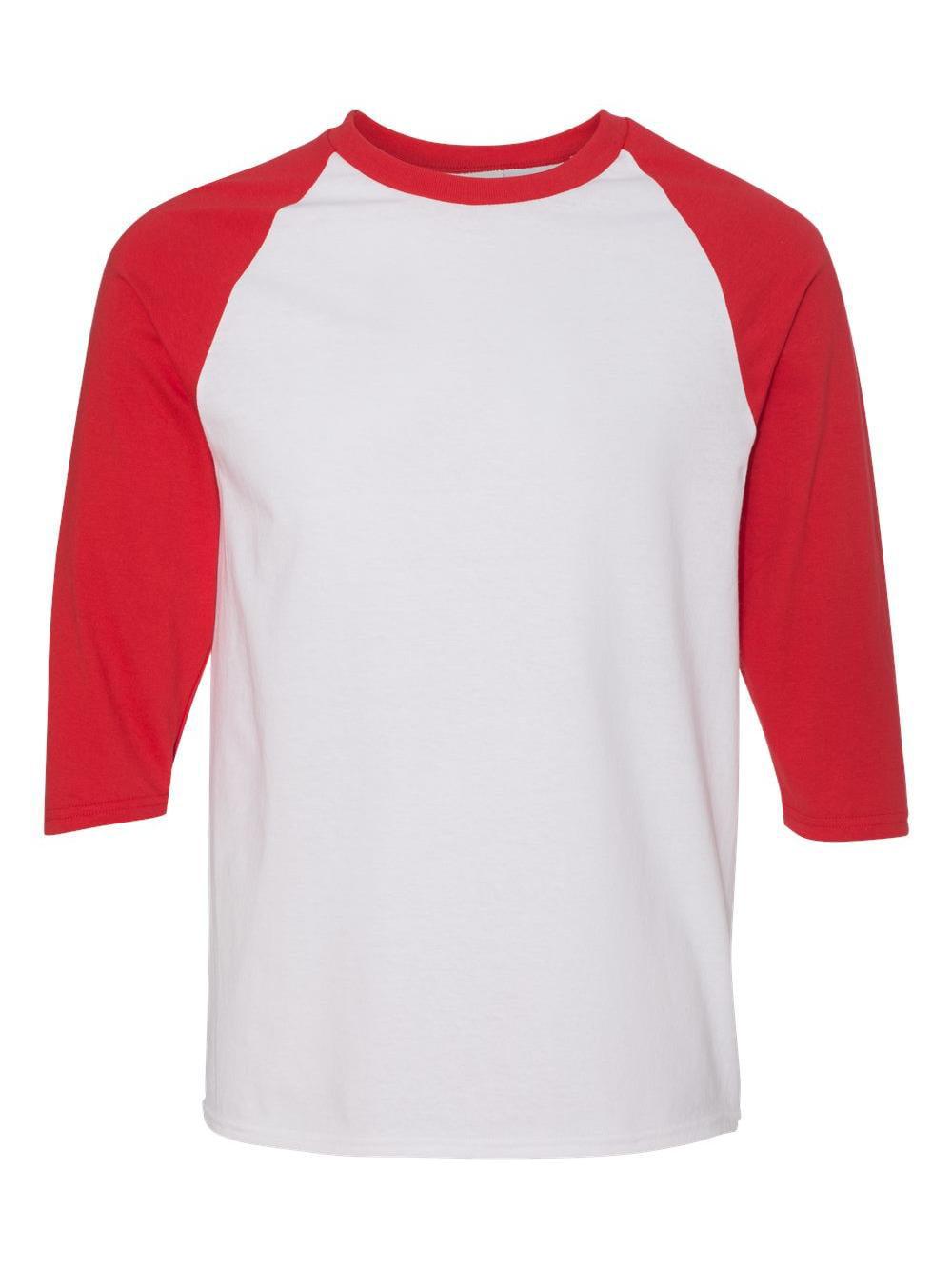 37cd844a Gildan - Heavy Cotton Three-Quarter Raglan Sleeve Baseball T-Shirt - 5700