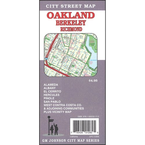 Universal Map Oakland/Berkeley California Fold Map