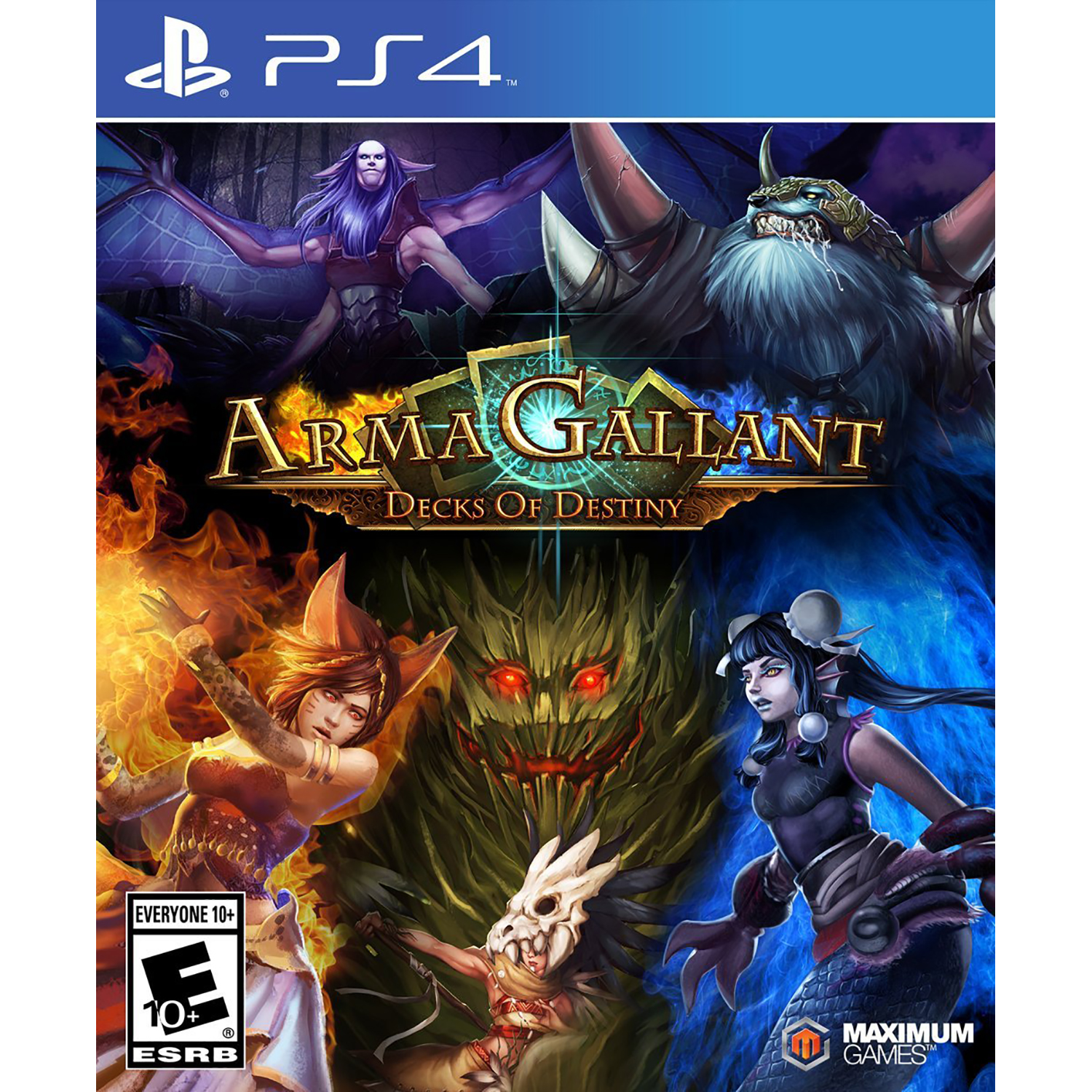ArmaGallant: Decks of Destiny - Preowned (PS4)