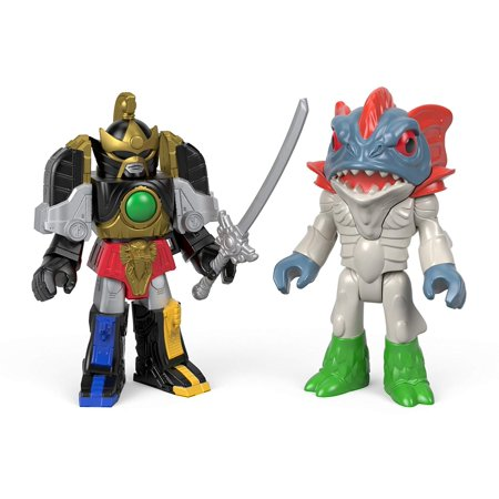 Fisher-Price Imaginext Power Rangers Thunder Megazord & Pirantishead, Includes Thunder Megazord with accessory and Pirantishead figure By (Fisher Price Imaginext Power Rangers Morphin Megazord)